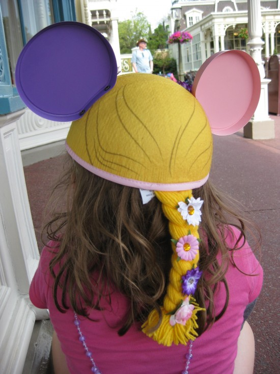 Rapunzel Mickey Mouse Ears