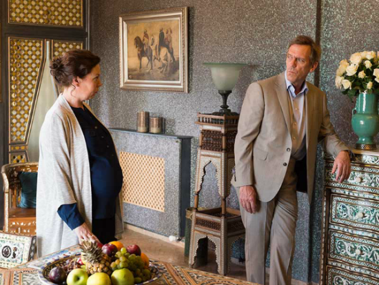 Olivia Colman and Hugh Laurie in The Night Manager