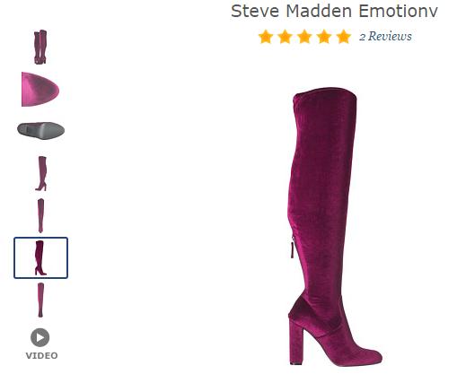 steve madden emotionv boots