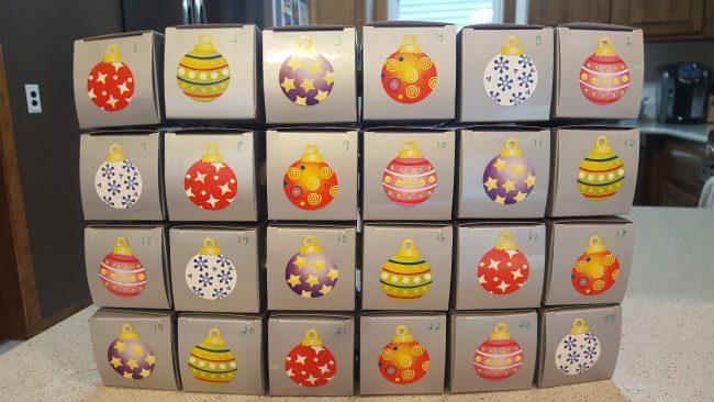 Easy DIY Shopkins Advent Calendar